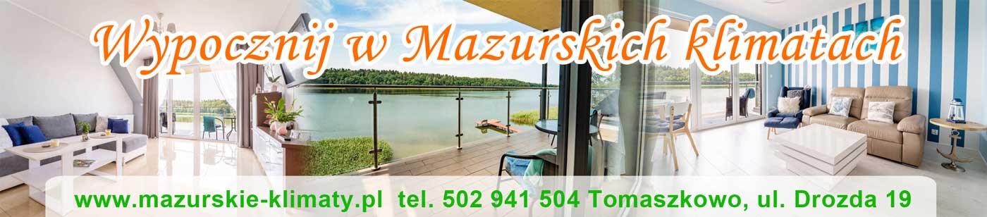 Apartamenty nad jeziorem - Mazurskie Klimaty